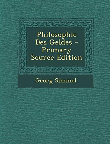 9781293556610: Philosophie Des Geldes (German Edition)