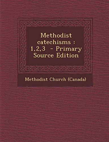 9781293561430: Methodist catechisms: 1,2,3