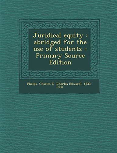 9781293563717: Juridical equity: abridged for the use of students