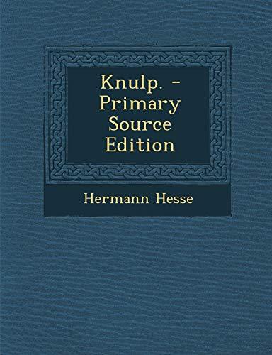 9781293575550: Knulp. (German Edition)