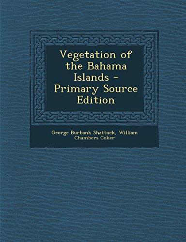 9781293584040: Vegetation of the Bahama Islands
