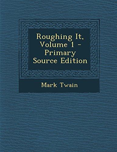 9781293594858: Roughing It, Volume 1
