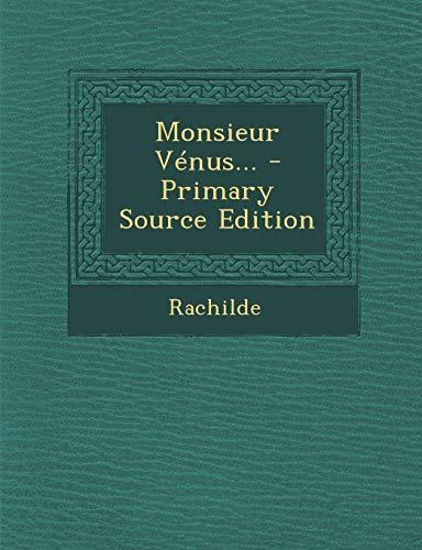 9781293620168: Monsieur Vénus... (French Edition)