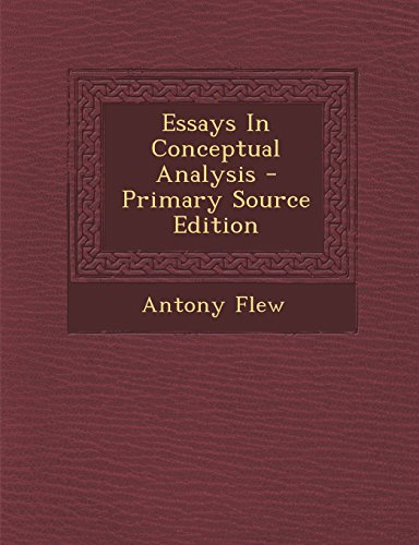 9781293657232: Essays in Conceptual Analysis - Primary Source Edition
