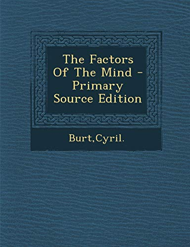 9781293657393: The Factors Of The Mind