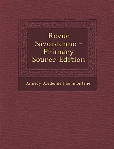9781293668023: Revue Savoisienne (French Edition)