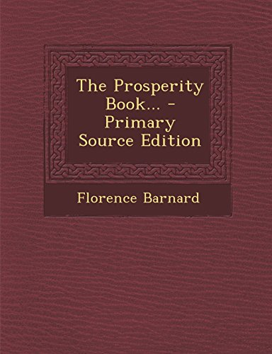 9781293678022: The Prosperity Book...