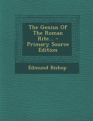 9781293681527: The Genius Of The Roman Rite...