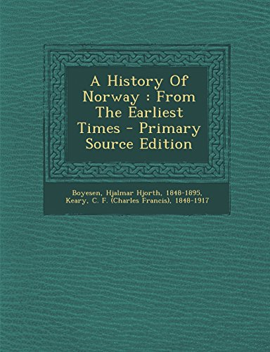 9781293695678: A History Of Norway: From The Earliest Times