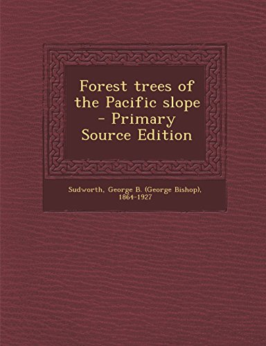 9781293700945: Forest trees of the Pacific slope