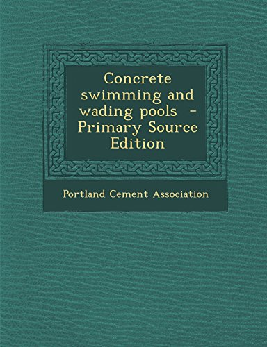 9781293710678: Concrete swimming and wading pools
