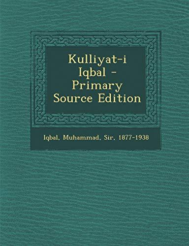 9781293722114: Kulliyat-I Iqbal