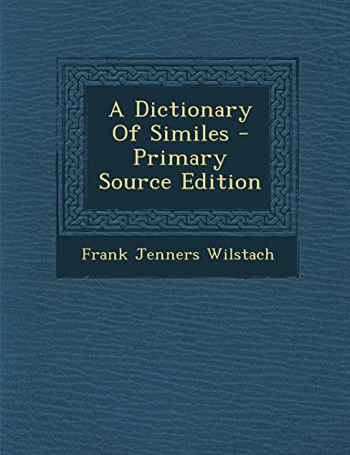 9781293723357: A Dictionary Of Similes