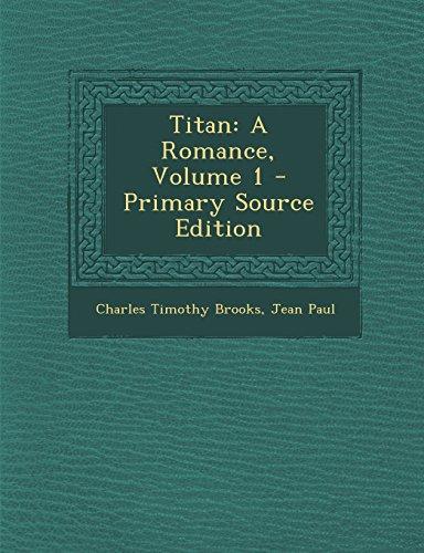 9781293731369: Titan: A Romance, Volume 1