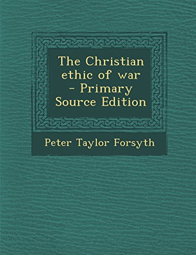 9781293753392: The Christian ethic of war