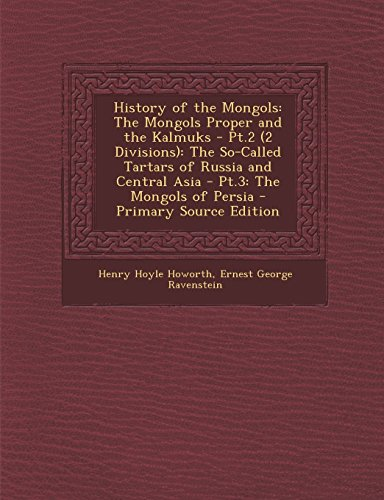 a history of the mongols