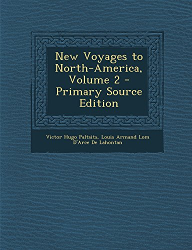 9781293756669: New Voyages to North-America, Volume 2
