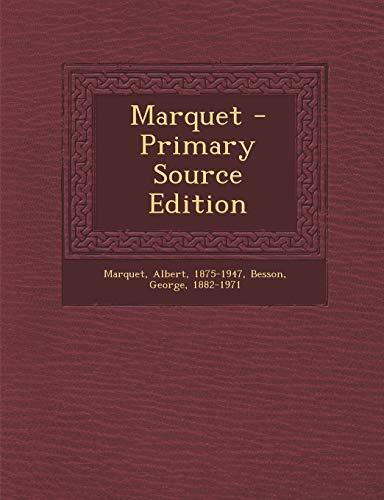 9781293757024: Marquet