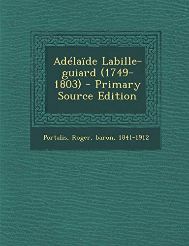 9781293757994: Adélaïde Labille-guiard (1749-1803) (French Edition)