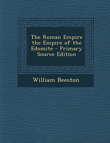 9781293763827: The Roman Empire the Empire of the Edomite