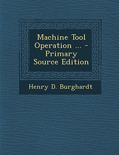 9781293771945: Machine Tool Operation ...