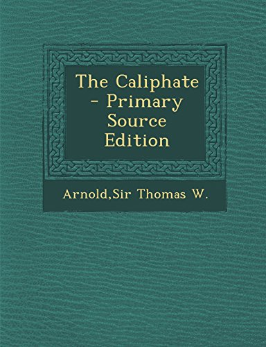 9781293785621: The Caliphate