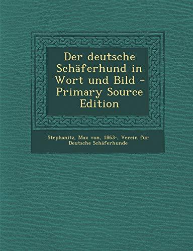 9781293792506: Der deutsche Schäferhund in Wort und Bild