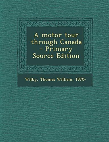 9781293794753: A motor tour through Canada