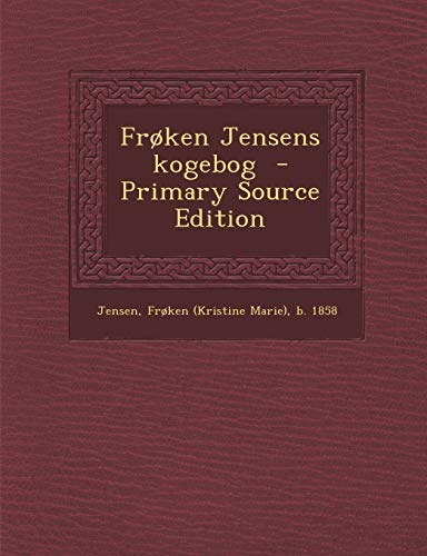 Froken Jensens Kogebog (Paperback)