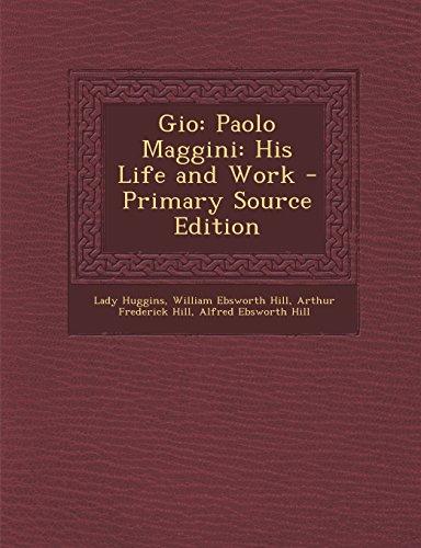 9781293800218: Gio: Paolo Maggini: His Life and Work
