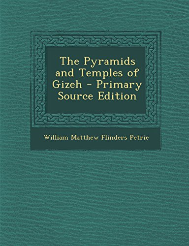 9781293804797: The Pyramids and Temples of Gizeh