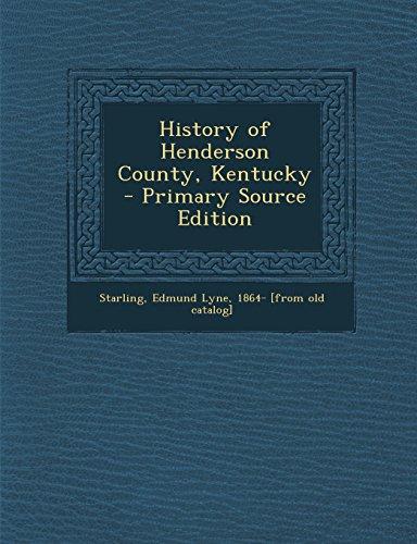 9781293806166: History of Henderson County, Kentucky