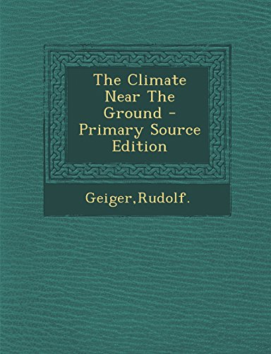 9781293808955: The Climate Near The Ground