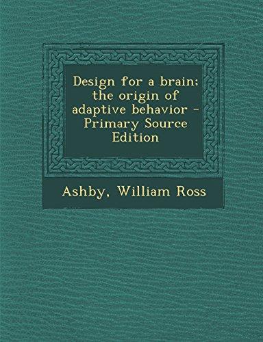 9781293809075: Design for a brain; the origin of adaptive behavior