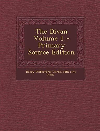 9781293815083: The Divan Volume 1