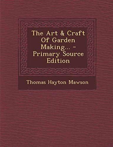 9781293816943: The Art & Craft Of Garden Making...
