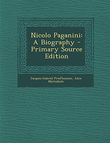 9781293819647: Nicolo Paganini: A Biography