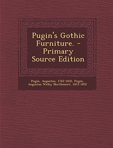 9781293819661: Pugin's Gothic Furniture.