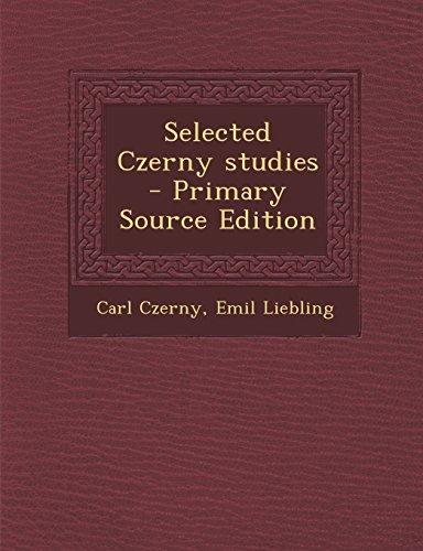 9781293820711: Selected Czerny studies