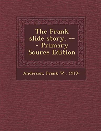 9781293821107: The Frank slide story. --