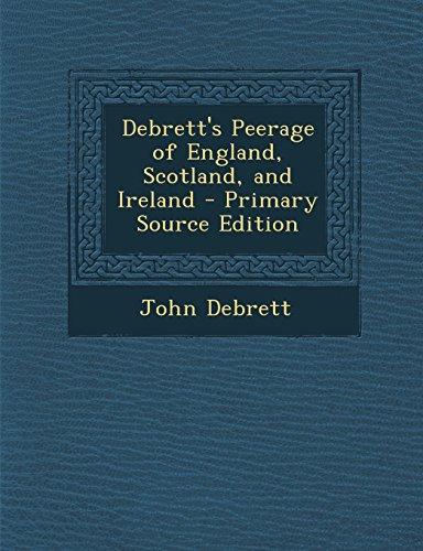 9781293822111: Debrett's Peerage of England, Scotland, and Ireland