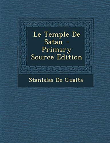 9781293823200: Le Temple De Satan (French Edition)