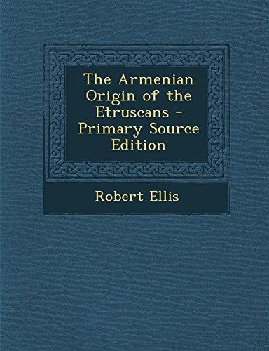9781293827376: The Armenian Origin of the Etruscans