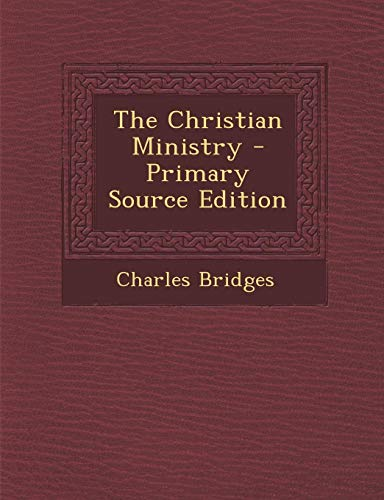 9781293828571: The Christian Ministry