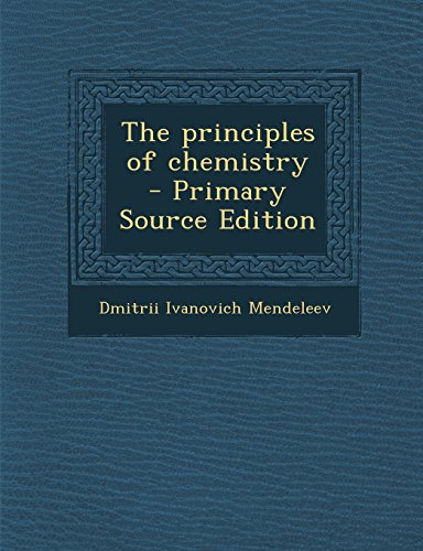 9781293828762: The principles of chemistry