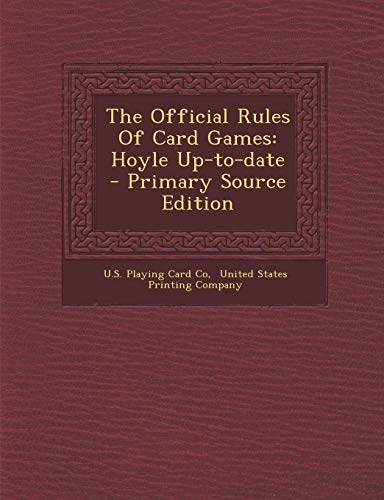 9781293831649: The Official Rules Of Card Games: Hoyle Up-to-date