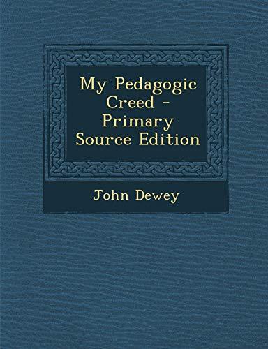 9781293833346: My Pedagogic Creed