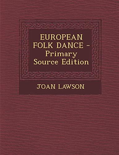 9781293840733: EUROPEAN FOLK DANCE
