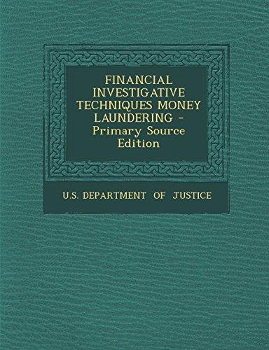 9781293841136: FINANCIAL INVESTIGATIVE TECHNIQUES MONEY LAUNDERING