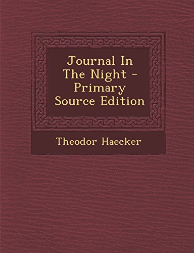 9781293841297: Journal In The Night